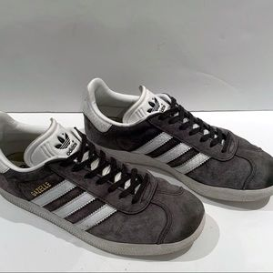 Adidas | Grey suede Gazelle Sneakers